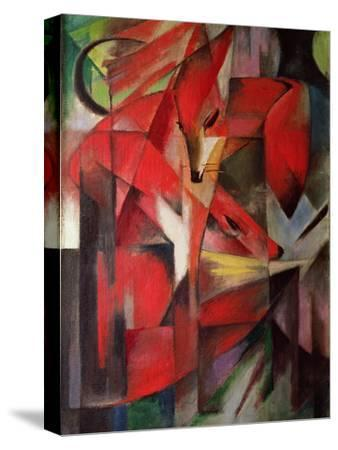 The Fox, 1913-Franz Marc-Stretched Canvas Print