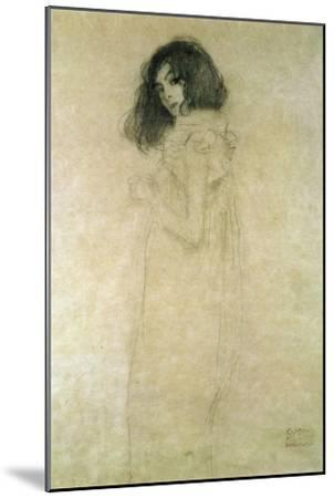 Portrait of a Young Woman, 1896-97-Gustav Klimt-Mounted Giclee Print