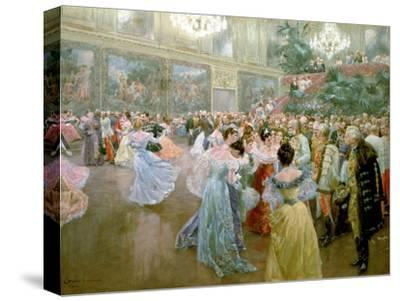 Court Ball at the Hofburg, 1900-Wilhelm Gause-Stretched Canvas Print