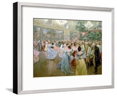 Court Ball at the Hofburg, 1900-Wilhelm Gause-Framed Giclee Print