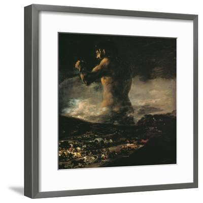 The Colossus, circa 1808-Francisco de Goya-Framed Giclee Print