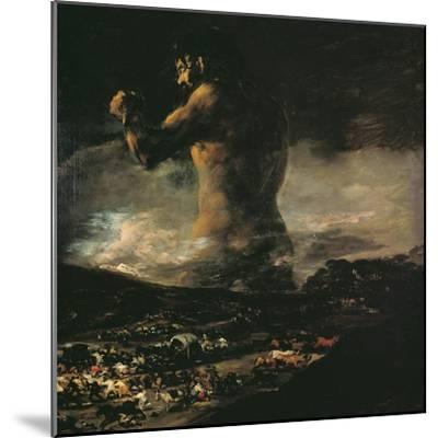The Colossus, circa 1808-Francisco de Goya-Mounted Giclee Print