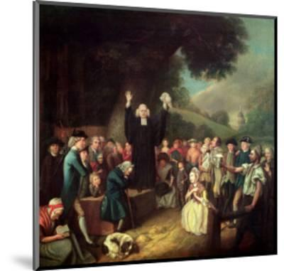 George Whitefield Preaching-John Collet-Mounted Giclee Print