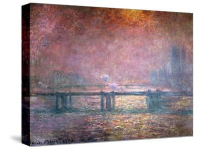 The Thames at Charing Cross, 1903-Claude Monet-Stretched Canvas Print