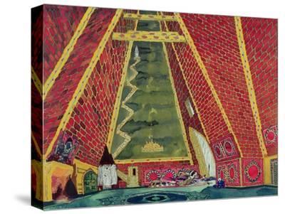 "Set Design for ""Thamar,"" 1912-Leon Bakst-Stretched Canvas Print"