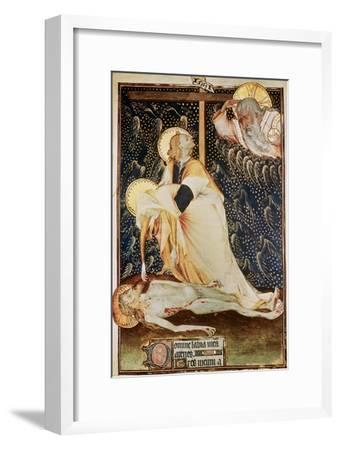 The Deposition of Christ, Made for Yolanda, Widow of Louis II of Anjou--Framed Giclee Print