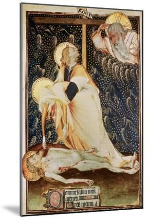 The Deposition of Christ, Made for Yolanda, Widow of Louis II of Anjou--Mounted Giclee Print