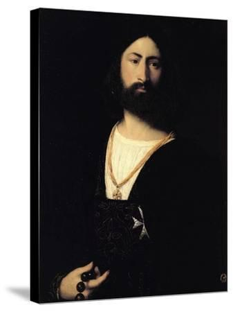 Knight of the Order of Malta-Titian (Tiziano Vecelli)-Stretched Canvas Print