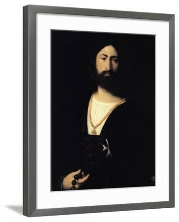 Knight of the Order of Malta-Titian (Tiziano Vecelli)-Framed Giclee Print