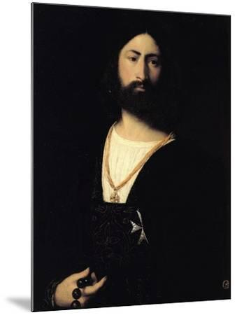 Knight of the Order of Malta-Titian (Tiziano Vecelli)-Mounted Giclee Print