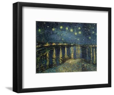 Starry Night over the Rhone, c.1888-Vincent van Gogh-Framed Premium Giclee Print