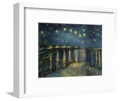 Starry Night over the Rhone, c.1888-Vincent van Gogh-Framed Premium Giclee Print