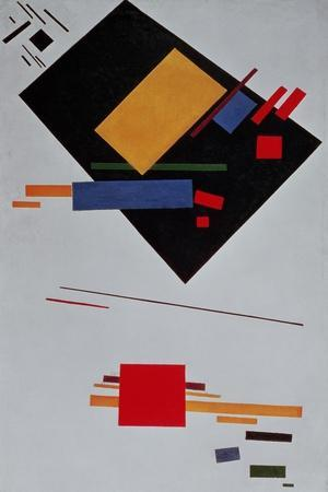 Suprematist Composition, 1915-Kasimir Malevich-Stretched Canvas Print