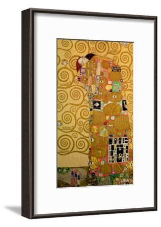 Fulfillment, Stoclet Frieze, c.1909-Gustav Klimt-Framed Giclee Print