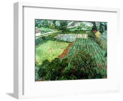 Field of Poppies, Saint-Remy, c.1889-Vincent van Gogh-Framed Giclee Print