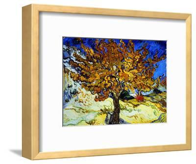 Mulberry Tree, c.1889-Vincent van Gogh-Framed Premium Giclee Print