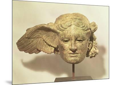 Head of Hypnos, or Sleep, an Auxiliary of Hades, Represented as a Winged Youth--Mounted Premium Giclee Print