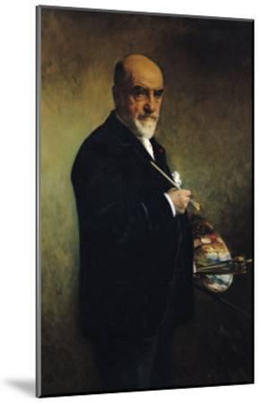 Self Portrait-Leon Joseph Florentin Bonnat-Mounted Giclee Print