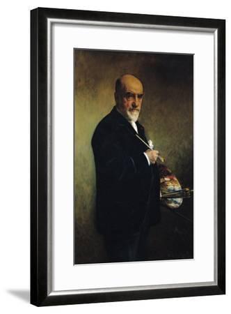 Self Portrait-Leon Joseph Florentin Bonnat-Framed Giclee Print
