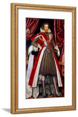 Philip Herbert, 4th Earl of Pembroke, circa 1615-William Larkin-Framed Giclee Print