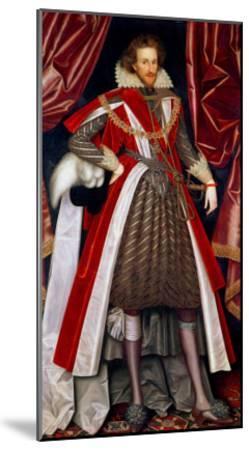 Philip Herbert, 4th Earl of Pembroke, circa 1615-William Larkin-Mounted Giclee Print