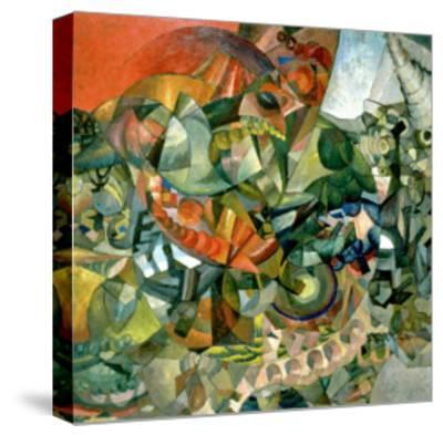 Allegory of the Patriotic War of 1812, 1914-Aristarkh Vasilievic Lentulov-Stretched Canvas Print