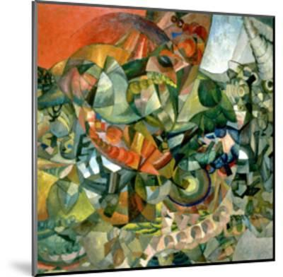Allegory of the Patriotic War of 1812, 1914-Aristarkh Vasilievic Lentulov-Mounted Giclee Print