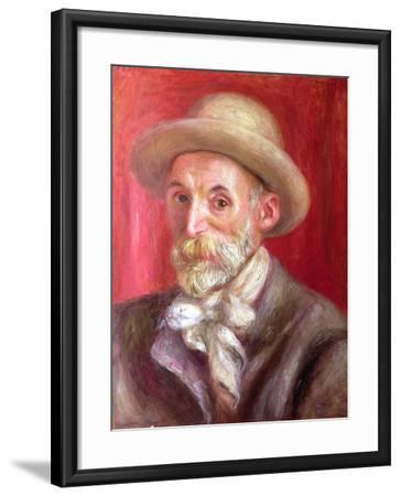 Self Portrait, 1910-Pierre-Auguste Renoir-Framed Giclee Print