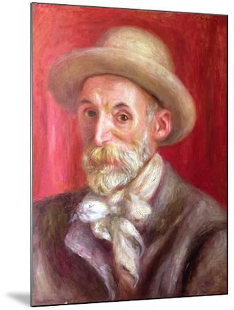 Self Portrait, 1910-Pierre-Auguste Renoir-Mounted Giclee Print