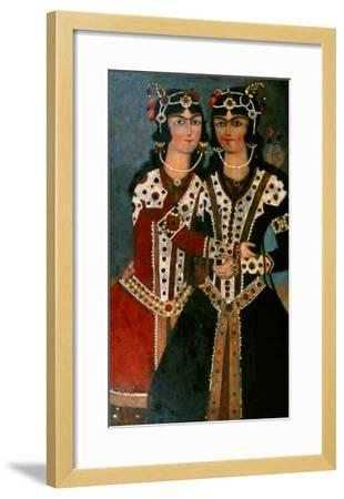 Portrait of Twins--Framed Giclee Print