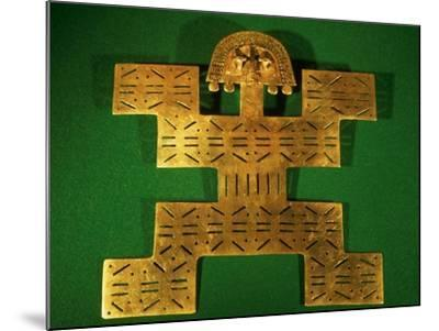 Pectoral Ornament of the Tolima Region, Colombia, circa 500-1500 AD--Mounted Giclee Print