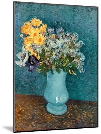 Vase of Lilacs, Daisies and Anemones, c.1887-Vincent van Gogh-Mounted Giclee Print
