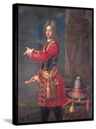 Prince Eugene of Savoy (1663-1736)--Stretched Canvas Print