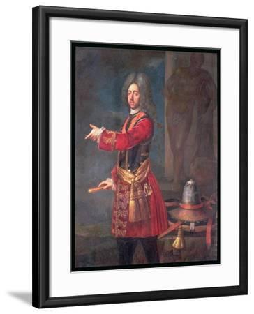 Prince Eugene of Savoy (1663-1736)--Framed Giclee Print