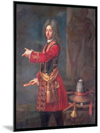 Prince Eugene of Savoy (1663-1736)--Mounted Giclee Print