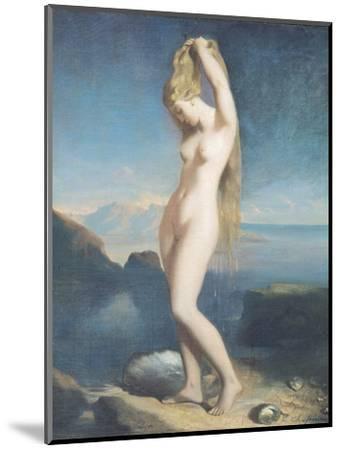 Venus Anadyomene, or Venus of the Sea, 1838-Theodore Chasseriau-Mounted Premium Giclee Print