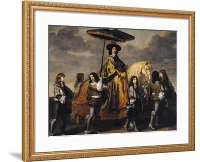 The Chancellor Seguier (1588-1672)-Charles Le Brun-Framed Giclee Print