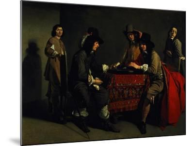 The Backgammon Players-Antoine & Louis Le Nain-Mounted Giclee Print