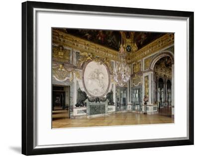 The Salon De La Guerre (War Room) 1678-84-Jules Hardouin Mansart-Framed Giclee Print