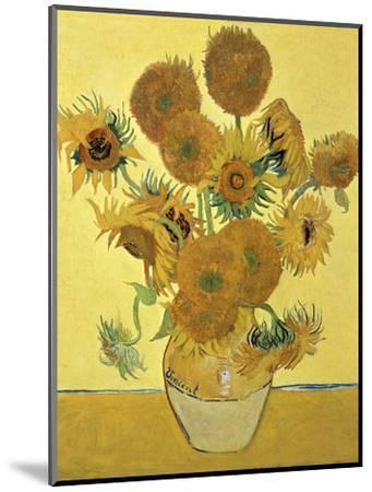 Vase of Fifteen Sunflowers, c.1888-Vincent van Gogh-Mounted Premium Giclee Print