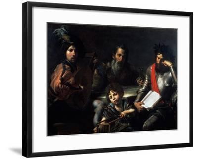 The Four Ages of Man, circa 1626-7-Valentin de Boulogne-Framed Giclee Print