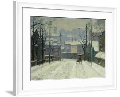 Twilight in Gloucester-Paul Cornoyer-Framed Giclee Print