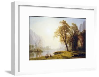 Yosemite Valley-Albert Bierstadt-Framed Giclee Print