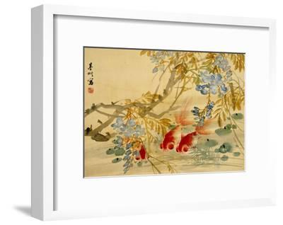 Goldfish-Ni Tian-Framed Giclee Print