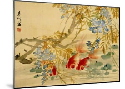 Goldfish-Ni Tian-Mounted Giclee Print