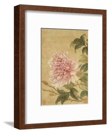 Peony-Yun Shouping-Framed Premium Giclee Print