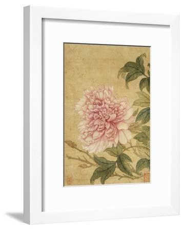 Peony-Yun Shouping-Framed Giclee Print