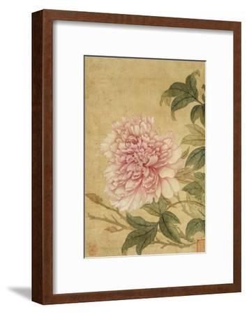 Peony-Yun Shouping-Framed Giclee Print