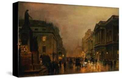 Pall Mall-John Atkinson Grimshaw-Stretched Canvas Print