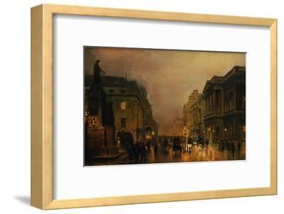 Pall Mall-John Atkinson Grimshaw-Framed Giclee Print